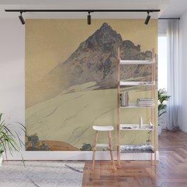 Yariga Mountain Hiroshi Yoshida Japanese Woodblock Print Wall Mural