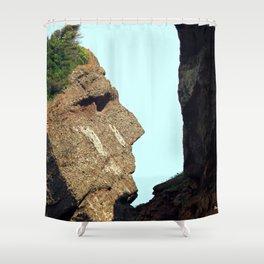 Indian Head Rock Shower Curtain