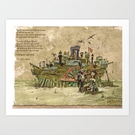 the Rose of Tralee Art Print