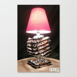 Accent Lamps  - Copper and Chrome Collection - FredPereiraStudios.com_Page_25 Canvas Print