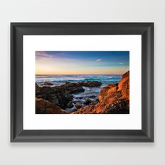 Tide Framed Art Print