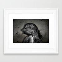grumpy Framed Art Prints featuring Grumpy by IOSQ