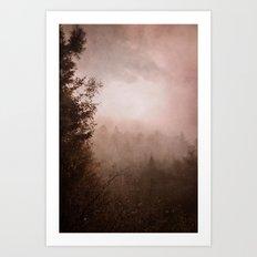 morning haze Art Print