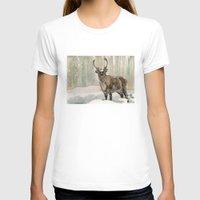 reindeer T-shirts featuring Reindeer by Meredith Mackworth-Praed