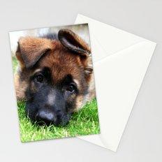 Playful Puppy. Stationery Cards