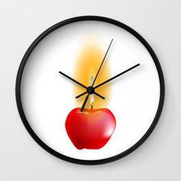 Apple Wick Wall Clock