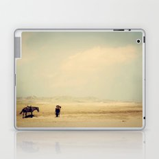 Bushiribana Horses At Play Laptop & iPad Skin