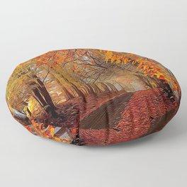 Autumn Parade Floor Pillow