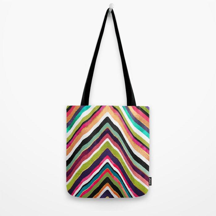 Color Slice Tote Bag