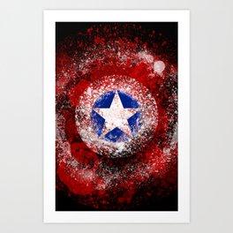 Avengers - Captain America Art Print