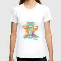 super hero T-shirts featuring Super Hero 4 by La Lanterne