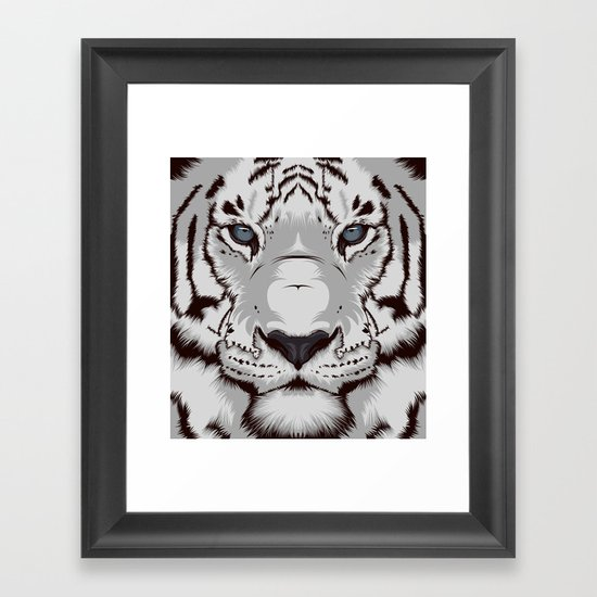 Tiger GW Framed Art Print