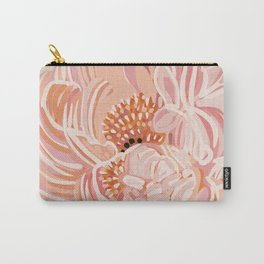 Peony graphic design art work Carry-All Pouch