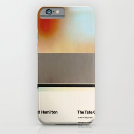Richard Hamilton Exhibition poster 1970 iPhone Case