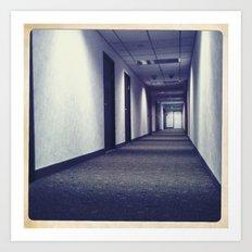 hallway Art Print