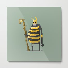 The large wizard of the Bees Metal Print