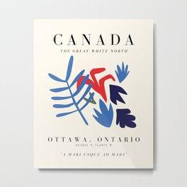 Canada Exhibition Metal Print