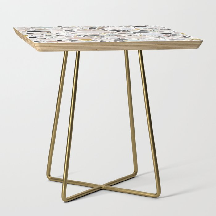 Terrazzo Pattern II. Side Table