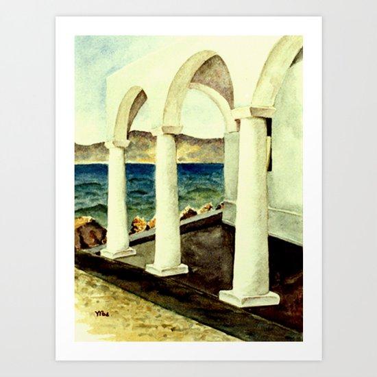 Greek Memories No. 7 Art Print