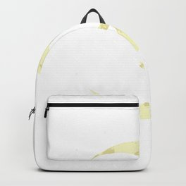 Moon embracing the darkness Backpack