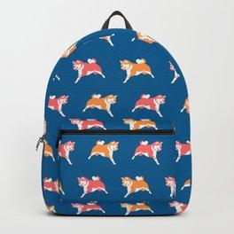 Shiba Inu Pattern Backpack