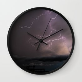 Spring Lightning Wall Clock