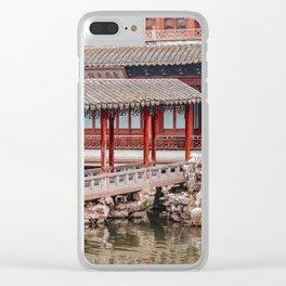 Yuyuan Garden, Shanghai, China Clear iPhone Case
