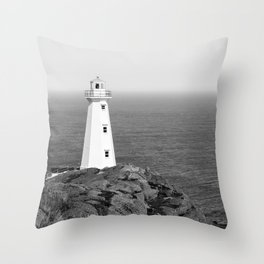 Cape Spear Lighthouse No.4 Throw Pillow