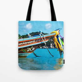 Long-Tail Koh Tao, Thailand Tote Bag