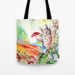 """""""Behind the tree"""" Tote Bag"""
