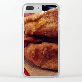 Croque Monsieur Clear iPhone Case