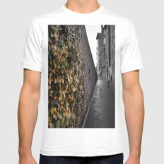 Faded Mens Fitted Tee MEDIUM White