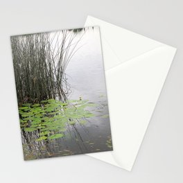 Lillypad tranquility Stationery Cards
