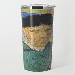 Vincent van Gogh's Self-Portrait Travel Mug