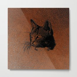 Cat20170501_by_JAMColorsSpecial Metal Print