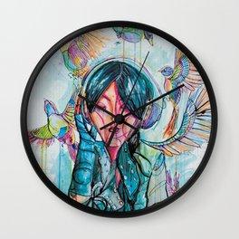Freedom Songs Wall Clock