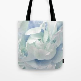 Peony in Blue White Tote Bag