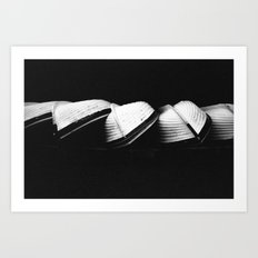 Row Boats 2 Art Print