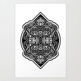 Wise-ard Art Print
