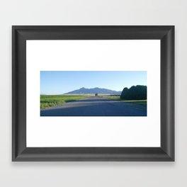 Where are we going? Framed Art Print