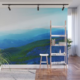 Over The Hills and Far Away Wall Mural