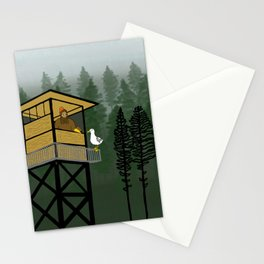Mr Big & Gerry the Seagull from Flock of Gerrys Gerry Loves Seagulls by Seasons Kaz Sparks Stationery Cards