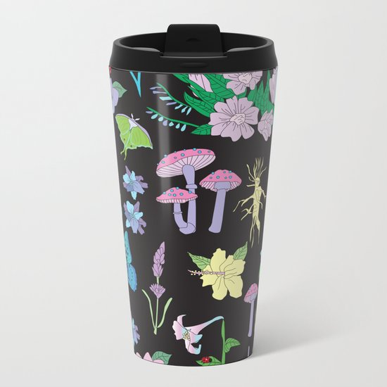 Garden Witch Metal Travel Mug