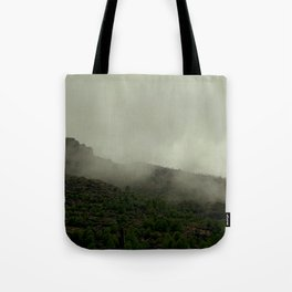 Tutankhamun Mountain Tote Bag