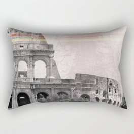 Colosseum Rome Italy Rectangular Pillow
