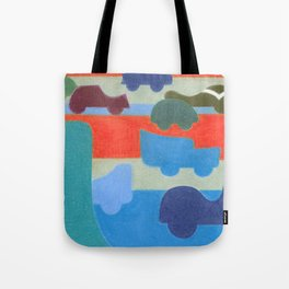 Stuck on the Slowlane Tote Bag