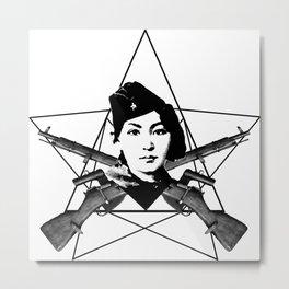 The Sniper (star) Metal Print