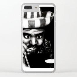 Reggae DJ Clear iPhone Case
