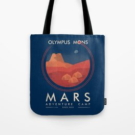Mars adventure camp Tote Bag