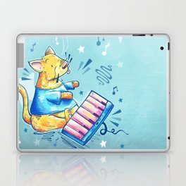 Keyboard Cat Says Thank You Laptop & iPad Skin